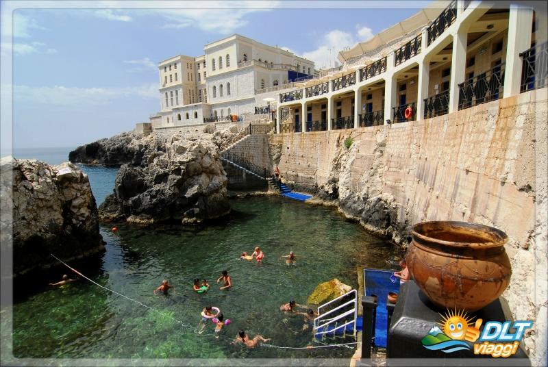Grand hotel mediterraneo santa cesarea terme puglia dlt viaggi - Piscina sulfurea santa cesarea terme ...