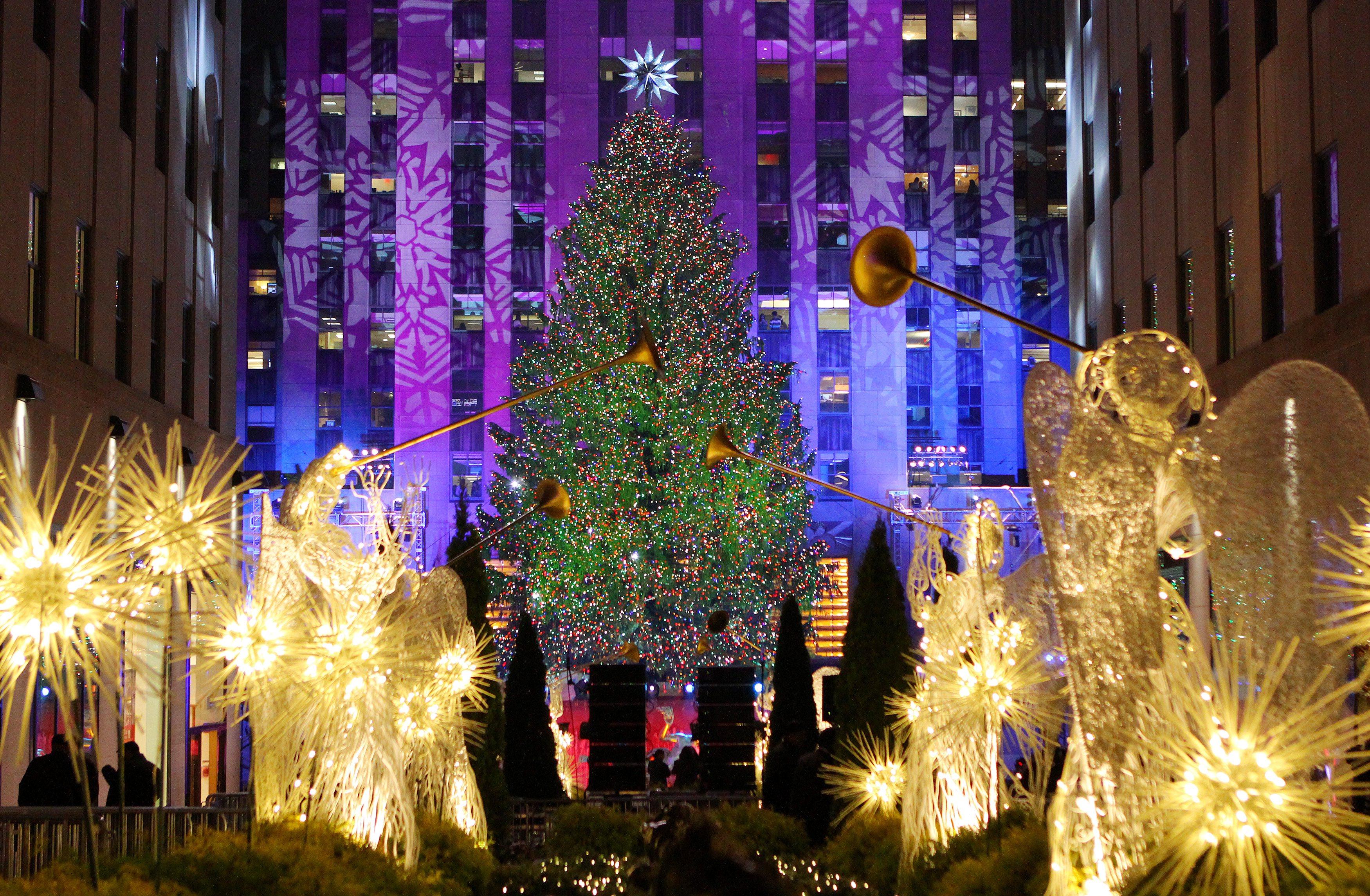 Albero Di Natale Rockefeller Center 2020.Dove Vanno Gli Italiani In Vacanza A Natale Magazine Dlt